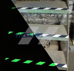 diagonal photo tape